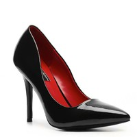 Charles Jourdan Irene Patent Leather Pump