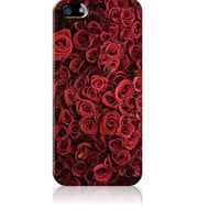 Flower Market - Iphone, 4, 4s. 5, 5, 5s, 5c Samsung Galaxy S3 & S4 Case - Gifts, Roses, Red, Chic, Floral, Cover, Flowers, Chic, classy