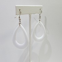 Acrylic Teardrop Earrings