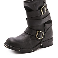 Brit Wrap Strap Booties