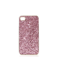PINK GLITTER IPHONE 4 COVER