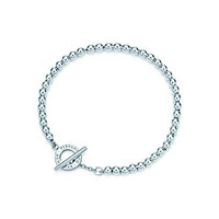 Tiffany & Co. - Tiffany Beads toggle bracelet in sterling silver, medium.
