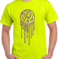 vw bleeding gold Tshirt - TeeeShop