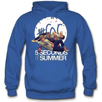 5 Seconds Of Summer All Band Hoodie - TeeeShop