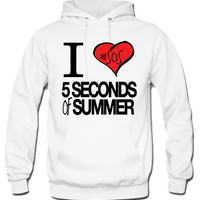 I Love 5 Seconds Of Summer Hoodie - TeeeShop