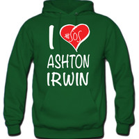 I Love Ashton Irwin 5 Seconds Of Summer Hoodie - TeeeShop