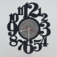 Vinyl Record Album Wall Clock (artist is Gloria Estefan)