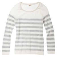 Mossimo Supply Co. Junior's Mesh Striped Sweater - Assorted Colors