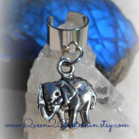 Elephant Ear Cuff, Lucky Elephant Jewelry, African Elephant, Direct Checkout