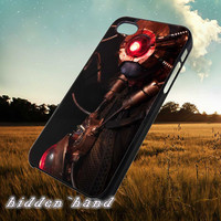 Steampunk Robot,Case,Cell Phone,iPhone 5/5S/5C,iPhone 4/4S,Samsung Galaxy S3,Samsung Galaxy S4,Rubber,11/07/8/Nt