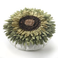 Sunflower Burst Decorative Pillow