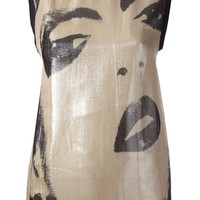 LANVIN face print top