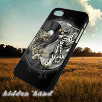 Yin And Yang Tiger And Dragon,Accessories,Case,Cell Phone,iPhone 5/5S/5C,iPhone 4/4S,Samsung Galaxy S3,Samsung Galaxy S4,Rubber,18/07/15/Du
