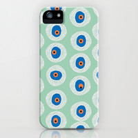 $6 off SALE! The Evil Eye - Hemlock iPhone 4, 4s, 5, 5s, 5c & Samsung Galaxy s3, s4 & iPod Case MINT GREEN by alterEGO