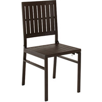 Walmart: Cosco Outdoor Folding Metal Slat Dining Chair, Sandy Brown, Set of 2