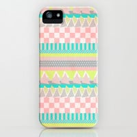 Geometric Pastel II iPhone & iPod Case by Louise Machado