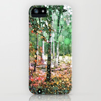 :: Walk in the Woods :: iPhone & iPod Case by GaleStorm Artworks