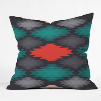 Gabi Like Water Throw Pillow