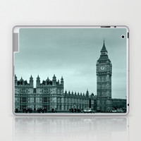 Big Ben Laptop & iPad Skin by Alice Gosling