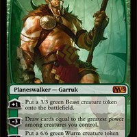 Magic: the Gathering - Garruk, Primal Hunter (174) - Magic 2013