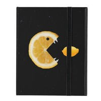 Cool and Funny Lemon Eats Lemon Strap Folio