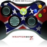 XBOX 360 Wireless Controller Decal Style Skin - Confederate Flag - CONTROLLER NOT INCLUDED (OEM Packaging)