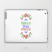 Bless This Mess Laptop & iPad Skin by LacyDermy