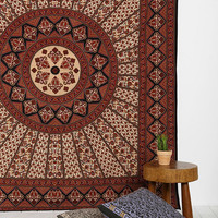 Magical Thinking Red & Black Medallion Tapestry - Urban Outfitters