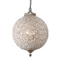 Flowered Ball Chandelier - Ethan Allen US