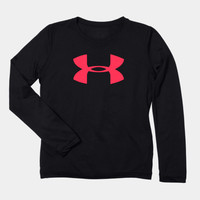 Under Armour Girls' UA Tech™ Big Logo Long Sleeve