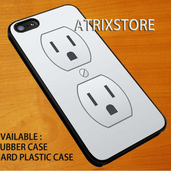 plug outlet,Accessories,Case,Cell Phone,iPhone 5/5S/5C,iPhone 4/4S,Samsung Galaxy S3,Samsung Galaxy S4,Rubber,24-06-24-Xm