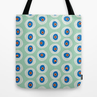 The Evil Eye - Hemlock  Tote Bag by alterEGO