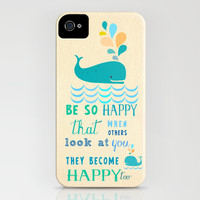 Be so happy that when others look at you they become happy too iPhone & iPod Case by Elisandra