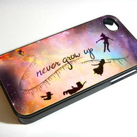 FREE SHIPPING, Disney New Peter Pan Quote, iPhone 4, iPhone 4s, Samsung Galaxy S3, Samsung Galaxy S4