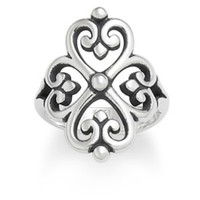 Adorned Hearts Ring: James Avery