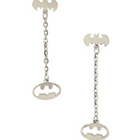 DC Comics Batman Logo Dangle Earrings