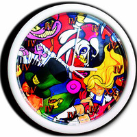 Alice In Wonderland Mad Tea Party Clock