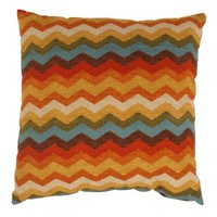 Pillow Perfect Panama Wave 23-Inch Floor Pillow, Adobe