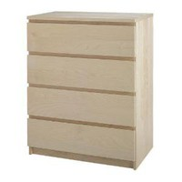 IKEA | Bedroom storage | Chests of drawers | MALM | 4-drawer chest