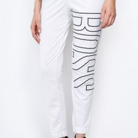 White BOSS Lounge Pants