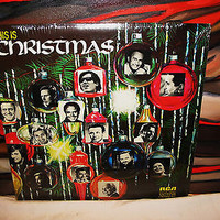 THIS IS CHRISTMAS Vinyl 2 Record LP SET 33 RCA VICTOR 1971 Stereo Sealed