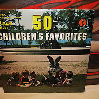 50  Childrens Favorites  2 Album Set Vinyl Record LP K Tel Intern 1978 Sealed