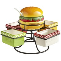 Hamburger Condiment Spinner