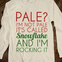 PALE SNOWFLAKE LONG SLEEVE