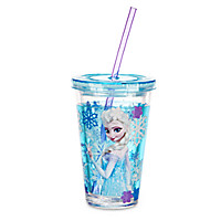 Elsa Tumbler with Straw - Frozen - Small