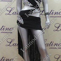 LATIN SALSA COMPETITION DRESS LDW (LT804) LATIN-SALSA-COMPETITION-DRESS-LDW-LT804 Latino Dancewears