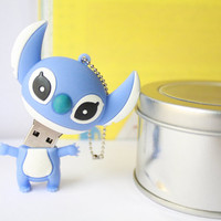 SALE30-70%OFF: 4GB Usb Cute Stitch Lilo and stitch usb Flash Drive 4Gb , Cute Usb Flash Drive , Accessories , usb, Kawaii Funny usb