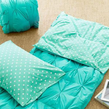 Pin Tuck Sleeping Bag + Pillowcase, Dottie