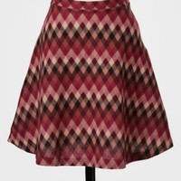 Field Of Study Chevron Skirt