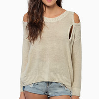 No More Shoulders Sweater $42